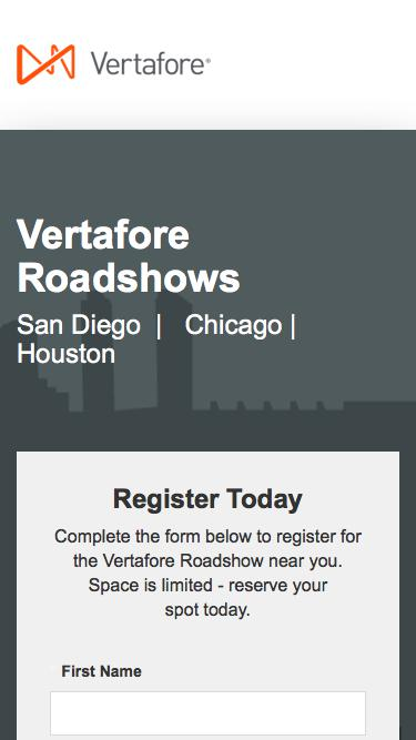 Vertafore Roadshows | Vertafore