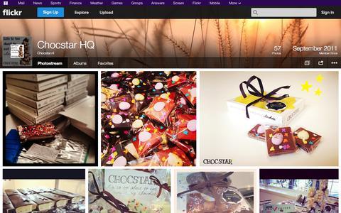 Screenshot of Flickr Page flickr.com - Flickr: Chocstar.nl's Photostream - captured Oct. 22, 2014