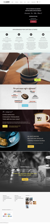 Screenshot of haveacoffee.com.br - Have a Coffee - Clube de assinatura dos melhores Microlotes de Café. - captured July 23, 2017
