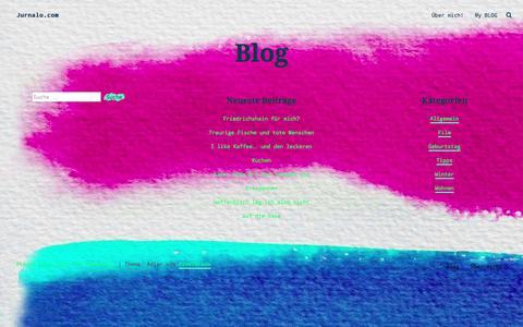 Screenshot of Blog jurnalo.com - Blog – Jurnalo.com - captured June 8, 2017