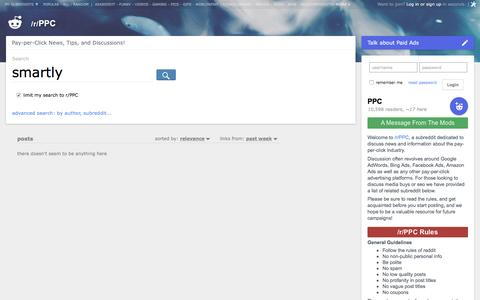 PPC: search results - smartly