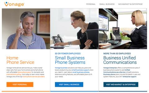 Phone Service for Home, Small Business & Business | Vonage US