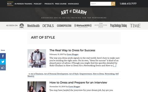 Art of Style Archives • The Art of Charm
