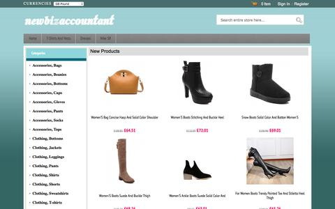 Screenshot of Home Page newbizaccountant.co.uk - Cheap Nike Shoes, Accessories and Clothing Store | Mens、Womens Nike Slippers, Sneakers & Active Shop Online | Newbizaccountant.co.uk - captured June 13, 2017