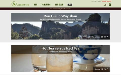Verdant Tea | A marketplace for small family tea farmers, directly from their farm to your cup.