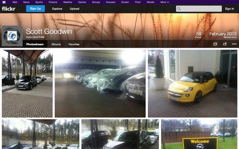 Screenshot of Flickr Page flickr.com - Flickr: AutomotiveTEAM's Photostream - captured Oct. 23, 2014
