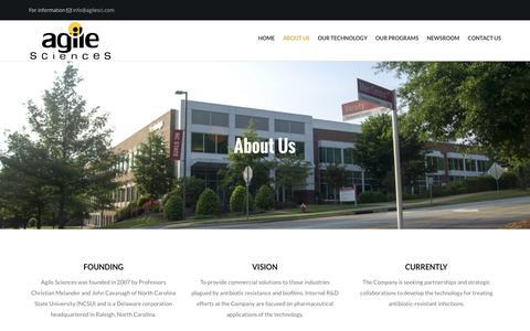 Screenshot of About Page agilesci.com - About Us | Agile Sciences - captured Nov. 20, 2016
