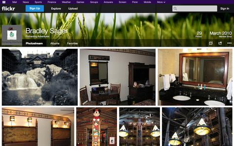 Screenshot of Flickr Page flickr.com - Flickr: Enchanting Adventures' Photostream - captured Oct. 22, 2014