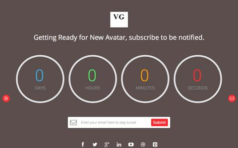 Screenshot of Home Page vyascorporation.com - Vyas Corporation - captured Feb. 27, 2016