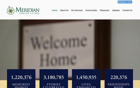 Meridian Senior Living | Senior Living Community Near You