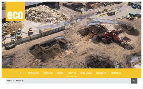Screenshot of About Page thisiseco.co.uk - About Us | Eco Sustainable Solutions | Resource Management - captured July 14, 2017