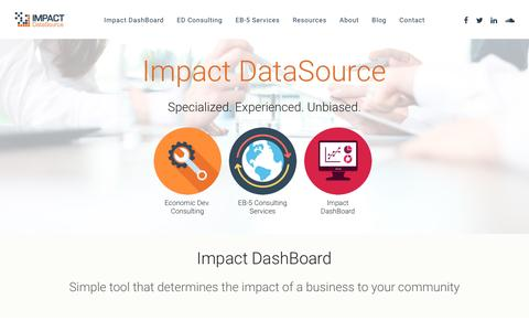 Impact DataSource – Economic Consulting, Research and Analysis Firm