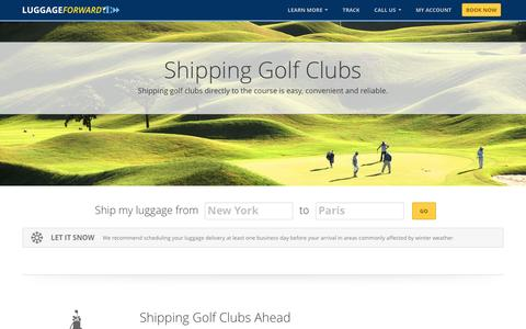 Shipping Golf Clubs | Golf Club Shipping | Ship Golf Clubs