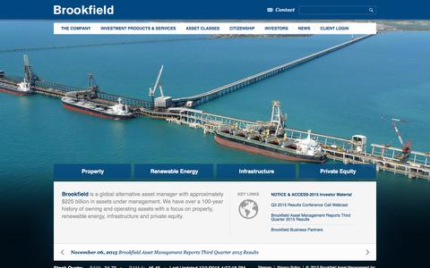 Global Alternative Asset Manager | Brookfield Asset Management