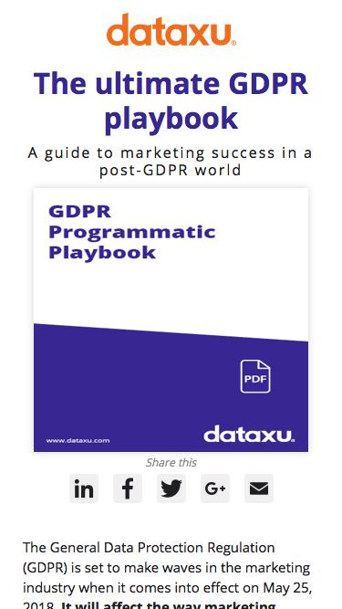 The ultimate GDPR playbook