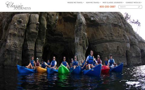 Screenshot of Jobs Page classicjourneys.com - Luxury adventure travel, cultural travel and exotic vacations to international and U.S. destinations – Classic Journeys - captured July 13, 2016