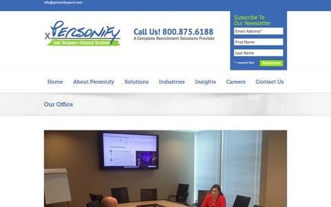 Our Office - Recruitment Process Outsourcing   Executive Search
