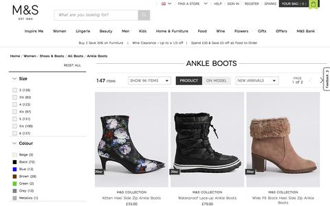 Ankle Boots | Women | M&S