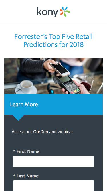 Kony   Forrester's Top Five Retail Predictions for 2018