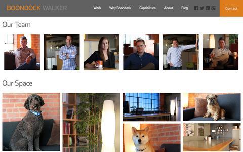 Screenshot of About Page boondockwalker.com - About Our Relationship | Boondock Walker - captured Sept. 30, 2014