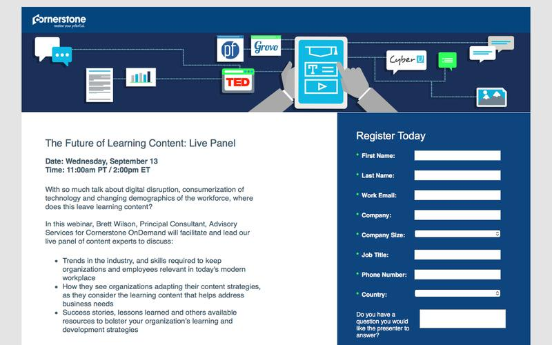 CSOD | Webinar: The Future of Learning Content