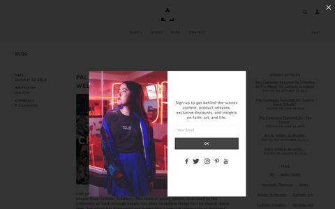 Screenshot of Press Page palcampaign.com - Blog | PAL Campaign - captured Oct. 30, 2018