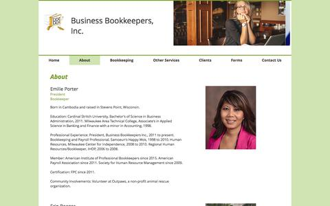 Screenshot of About Page bbookkeepers.com - business-bookkeepers | About - captured Nov. 23, 2016