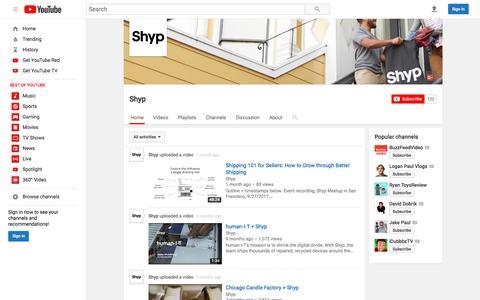Shyp  - YouTube