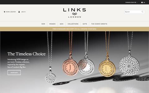Iconic British Jewellery & Luxury Gifts | Links of London | Links of London