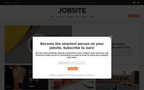 Construction Industry News - Jobsite News | The Jobsite