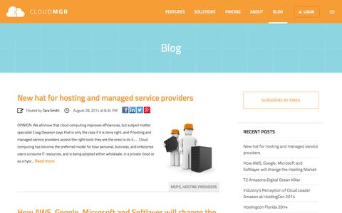 Blog | Cloudmgr