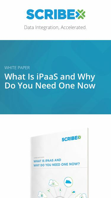 White paper: What Is iPaaS and Why Do You Need One Now | Scribe Software