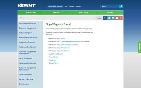 Error.  Page not found.