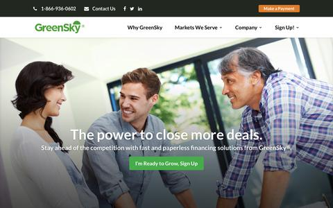 Home Page | GreenSky