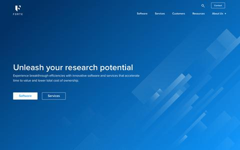 Forte | Unleash your research potential