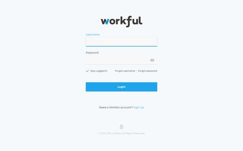 Screenshot of Products Page workful.com - Workful Login Account - captured Dec. 6, 2018