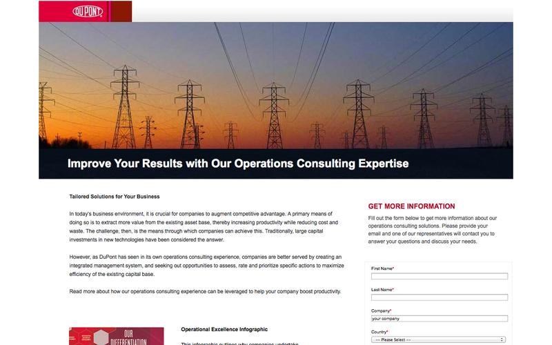 Operations Consulting | DuPont Operations Consulting