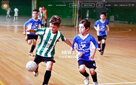 Screenshot of Press Page westchesterfutsal.com - News |  Westchester Futsal - captured Nov. 8, 2017