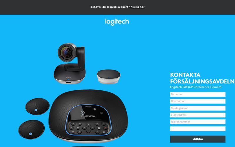 Logitech GROUP Conference Camera | Contact Us