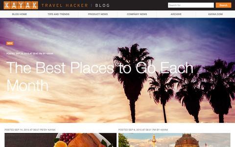 KAYAK Travel Hacker - Blog -