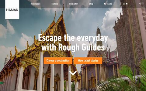Screenshot of Home Page hamak.info - Rough Guides | Travel Guide and Travel Information - hamak.info - captured July 11, 2017