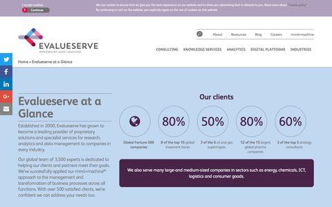 Screenshot of About Page evalueserve.com - About - Evalueserve - captured Jan. 24, 2018