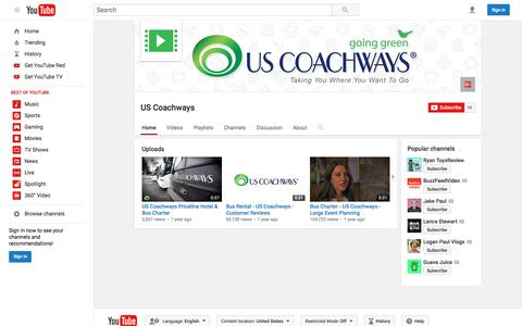 US Coachways  - YouTube