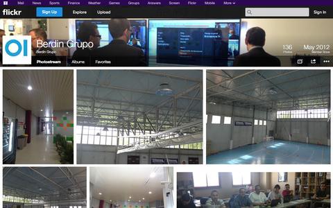 Screenshot of Flickr Page flickr.com - Flickr: Berdin Grupo's Photostream - captured Oct. 23, 2014