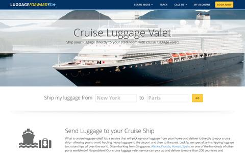 Cruise Luggage Valet | Cruise Baggage Valet