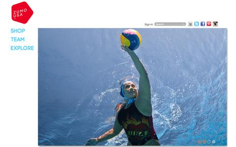 Screenshot of Home Page zumousa.com - Home page - captured Sept. 30, 2014