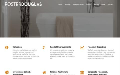 Screenshot of About Page fosterdouglas.com - About us - Foster Douglas - captured Oct. 14, 2017