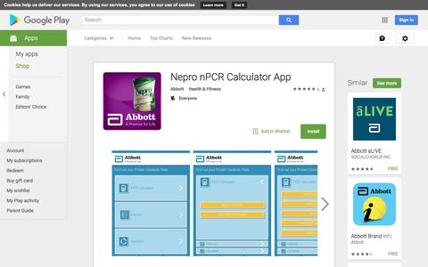 Nepro nPCR Calculator App - Android Apps on Google Play