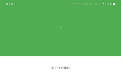 Screenshot of Press Page bodetree.com - Press - BodeTree - captured April 21, 2016