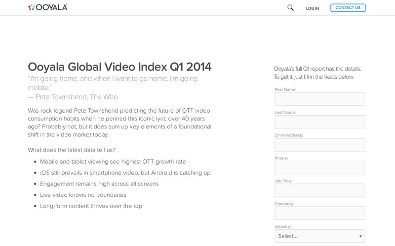 Ooyala Global Video Index Q1 2014